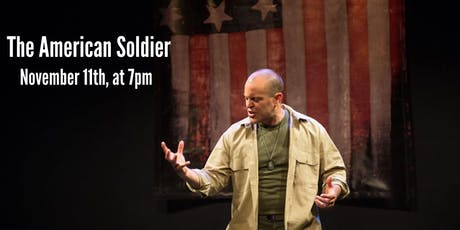 THE AMERICAN SOLDIER written & performed by Douglas Taurel tickets