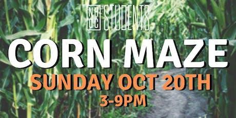 NHCC Student Nights - Corn Maze tickets