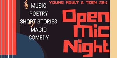 Young Adult Open Mic Night