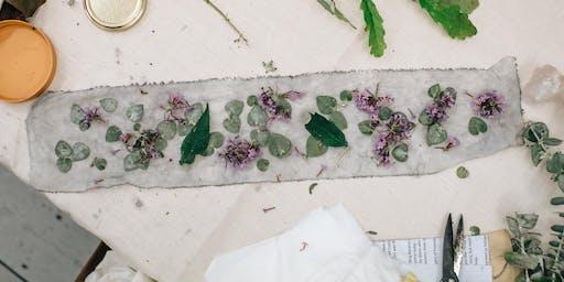 Garden Sessions Workshops I Natural Dyes an Exploration