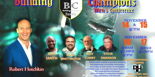 2019 Building Champions Men's Conference