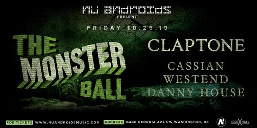 The Monster Ball feat. Claptone w/ Cassian, Westend + Danny House at A.i.