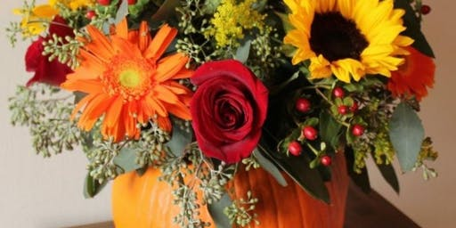 Fall Floral Arrangement with Lacey Ward