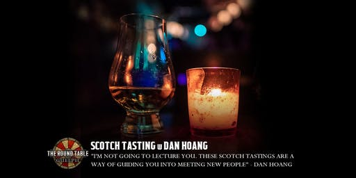 Scotch Tasting at Round Table Guelph