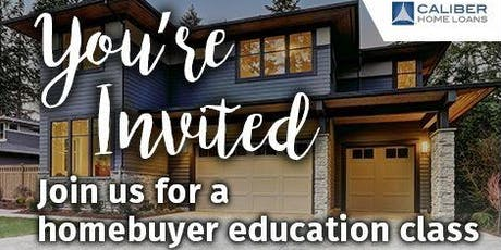 FREE HOME BUYER EDUCATION AND DOWN PAYMENT ASSISTANCE CLASS tickets