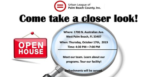 Open House - Come take a closer look!