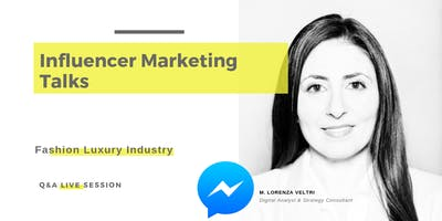 Influencer Marketing Talks Live Q&A session (RSVP required)