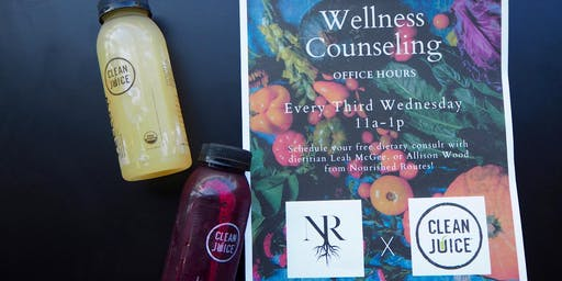 Dietitian Office Hours - Clean Juice (The Gulch)