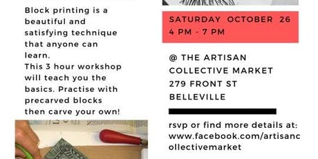 Block Printing Workshop tickets