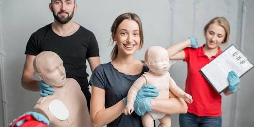 Atelier de secourisme pédiatrique Groupe 2