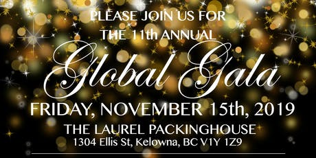 11th Annual UBCO Global Gala tickets