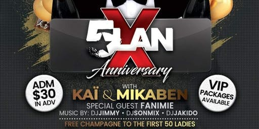5LAN 10th year Anniversary in NYC