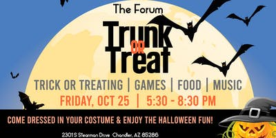 Trunk or Treat at The Forum