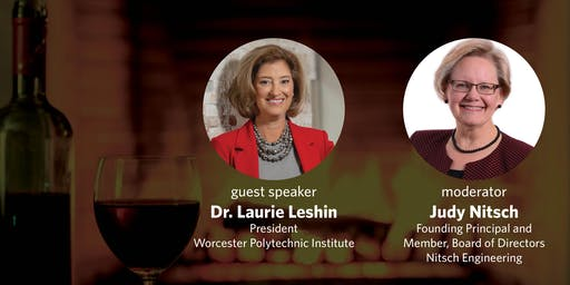 Fireside Chat with Dr. Laurie Leshin, President, Worcester Polytechnic Institute