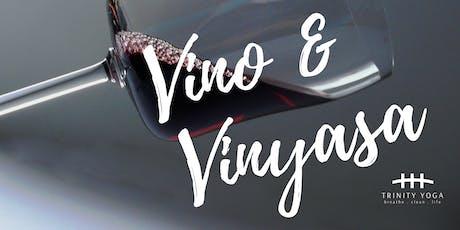 Vino & Vinyasa tickets