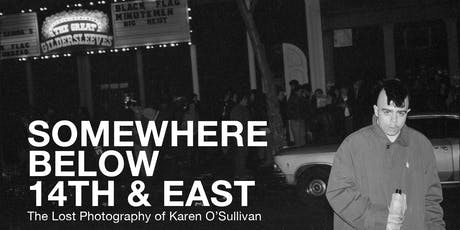 Somewhere Below 14th Street & East Book Release Party tickets