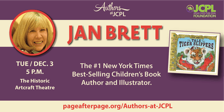 Authors at JCPL Presents: Children's Author/Illustrator, Jan Brett tickets