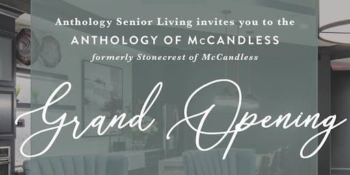 Anthology of McCandless Grand Opening