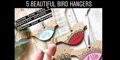 5 Beautiful Bird Hangers Workshop