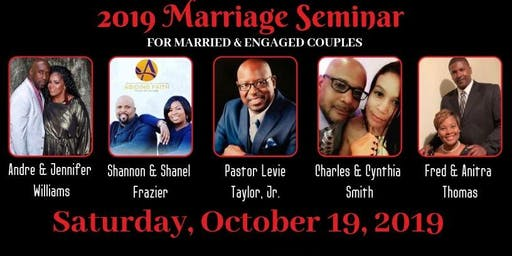"""""""The Value of The Vows"""" Marriage Seminar"""