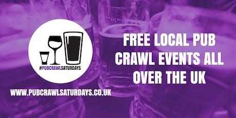 PUB CRAWL SATURDAYS! Free weekly pub crawl event in Oadby tickets