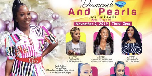 Diamonds and Pearls, Let's Talk Girls!