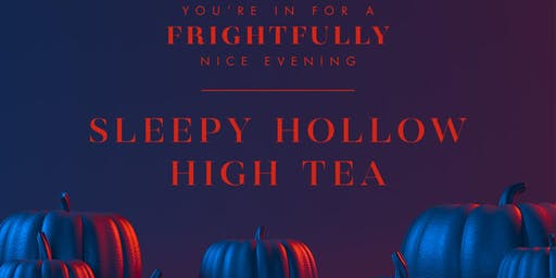 Sleepy Hollow High Tea at Harvey Nichols, Leeds
