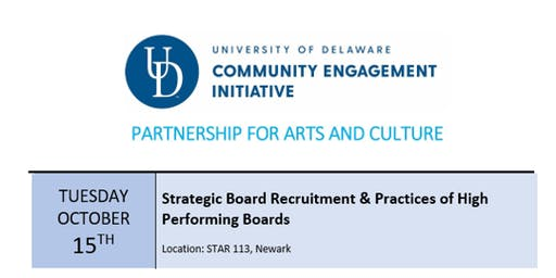 PAC Workshop - Strategic Board Recruitment & Practices of High Performing Boards