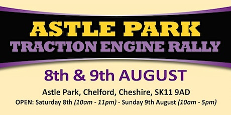 Astle Park Traction Engine Rally 2020 (Buy Trading Space) tickets