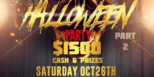 $1500 Halloween Costume Party