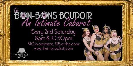 The Bon-Bons Burlesque Boudoir billets