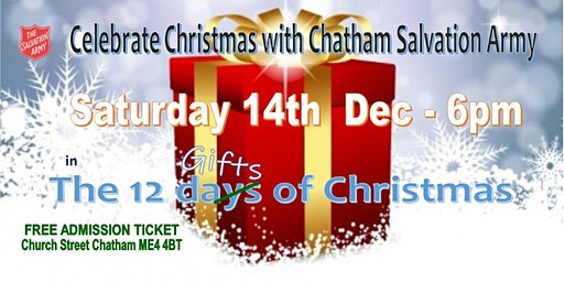 Christmas with Chatham Salvation Army