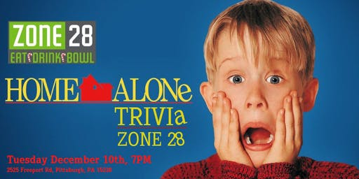 Home Alone Trivia at Zone 28