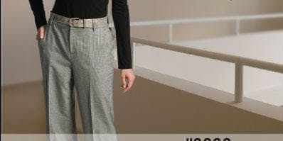 Sew a Great Fitting Pair of Trousers - 5 Week Class