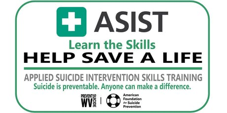 ASIST - Applied Suicide Intervention Skills Training - Charleston WV tickets