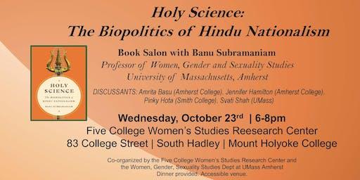 Holy Science! Book Salon with Banu Subramaniam