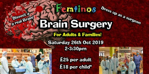 Femtinos Brain Surgery -  Adult & Families Workshop