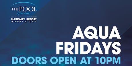 DJ Shift at The Pool After Dark - Aqua Fridays FREE Guestlist tickets