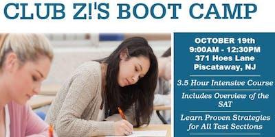 Club Z! SAT Boot Camp