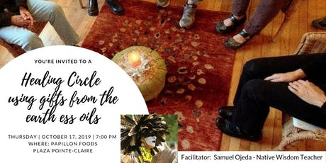 Healing Circle using Gift of the Earth Essential Oils tickets