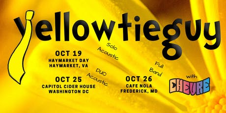 YellowTieGuy at Cafe Nola with Chevre tickets