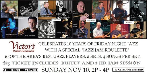 Jazz Jam Roulette: Celebrating 10 Years of Friday Night Jazz