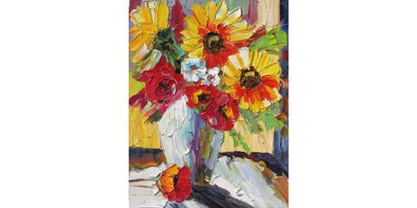 Fall Bouquet - Basics of Palette Knife Oil Painting Workshop tickets