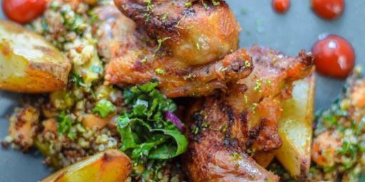 Middle Eastern Mezze Menu - Cooking Class by Cozymeal™