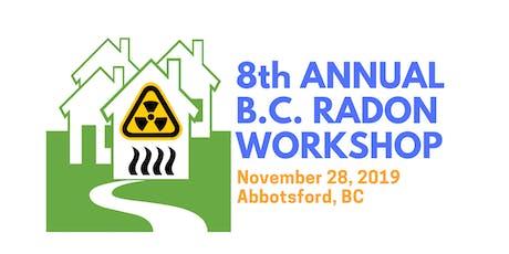 8th B.C. Radon Workshop tickets