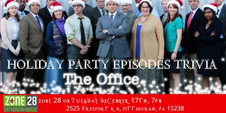 """The Office Trivia """"The Holiday Party Episodes"""" at Zone 28 tickets"""