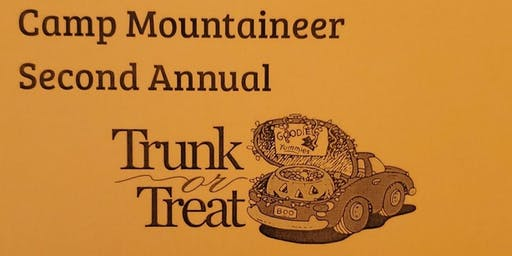 Camp Mountaineer Trunk or Treat