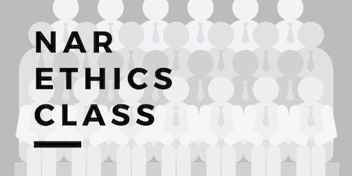December  NAR Ethics Class- $30.00