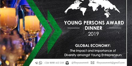 Young Persons Award and Dinner tickets