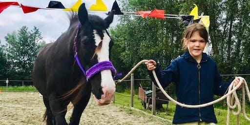 Kudde en Ik Herfstkamp (Sociaal-emotionele vaardigheidscursus met paarden)